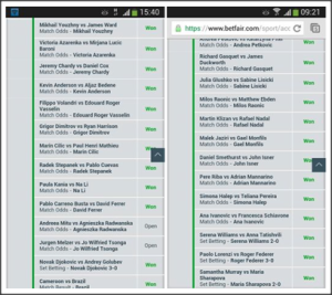 Focus on these major tennis tournaments: they open up a whole world of betting/trading opportunities…