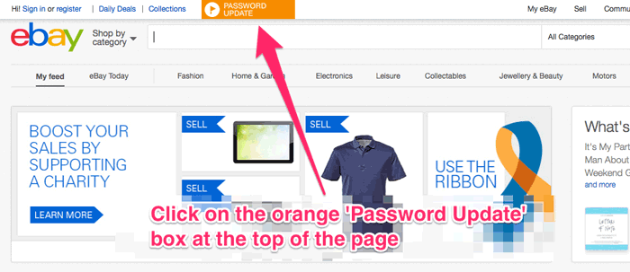 Don't ignore this! Why you need to change your eBay password today