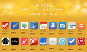 Massive sale on productivity apps (iPhone)