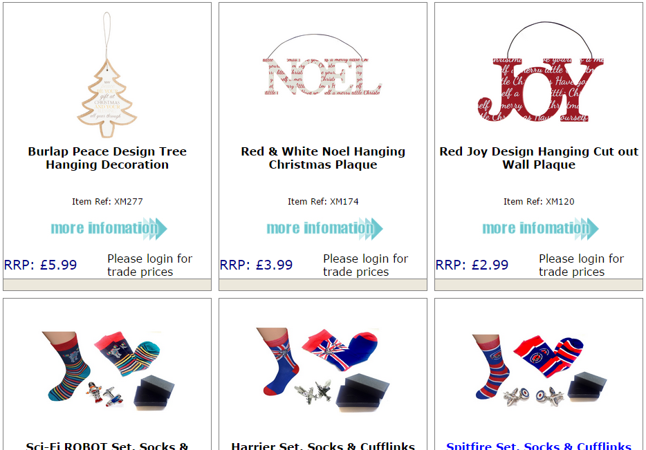 Source your office Christmas gifts here…