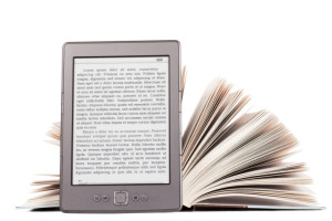 How have ebook e-readers affected book selling on Amazon?