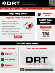 Review: Delay, React, Trade (DRT) – Clive Keeling
