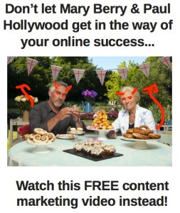 [Free Video] Why Mary Berry is a threat to your online success?