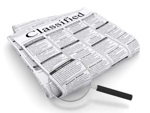 How a simple classified ad could make me £3 million!