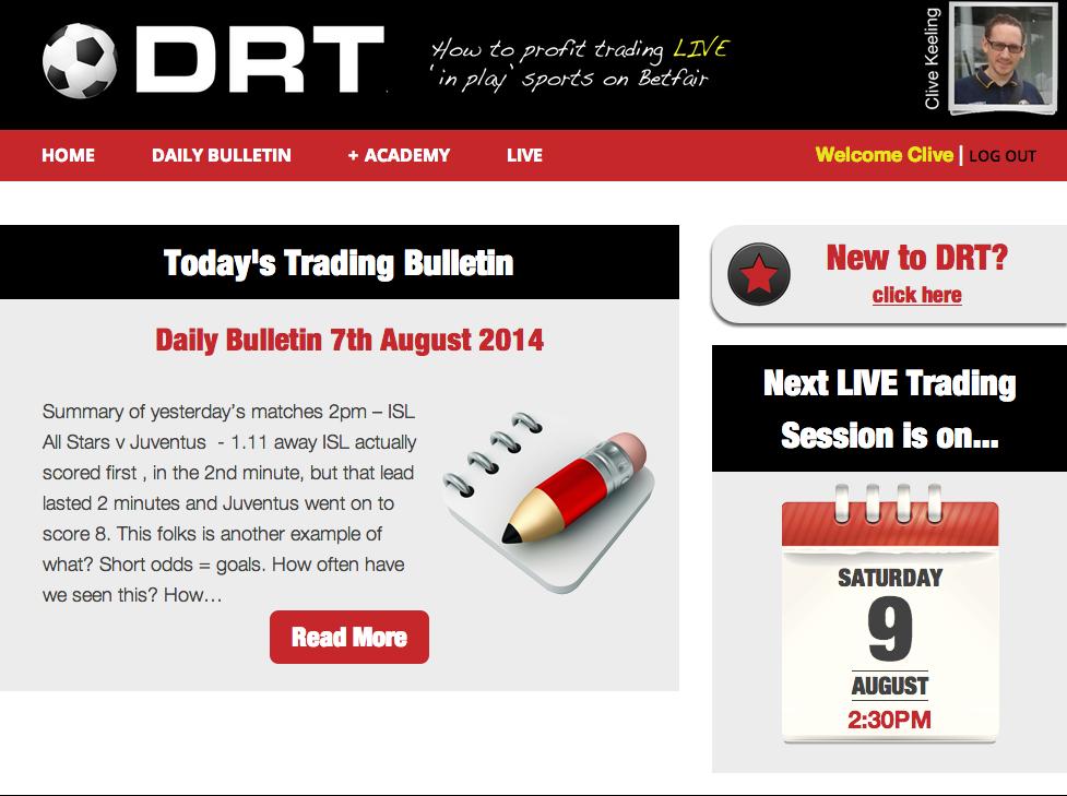 DRT – Delay-React-Trade