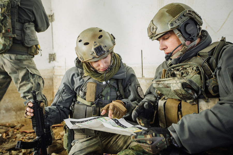 Special Forces style battle planning